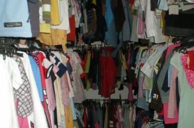 ПРОДАНО) Оптовый склад-магазин одежды и обуви.  Секонд-хенд и сток!